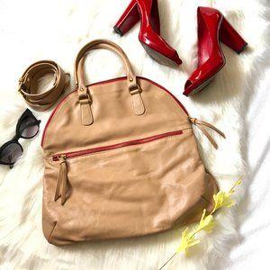Maurizio Taiuti Italian Leather Crossbody Handbag